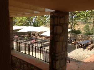 la terrassa principal